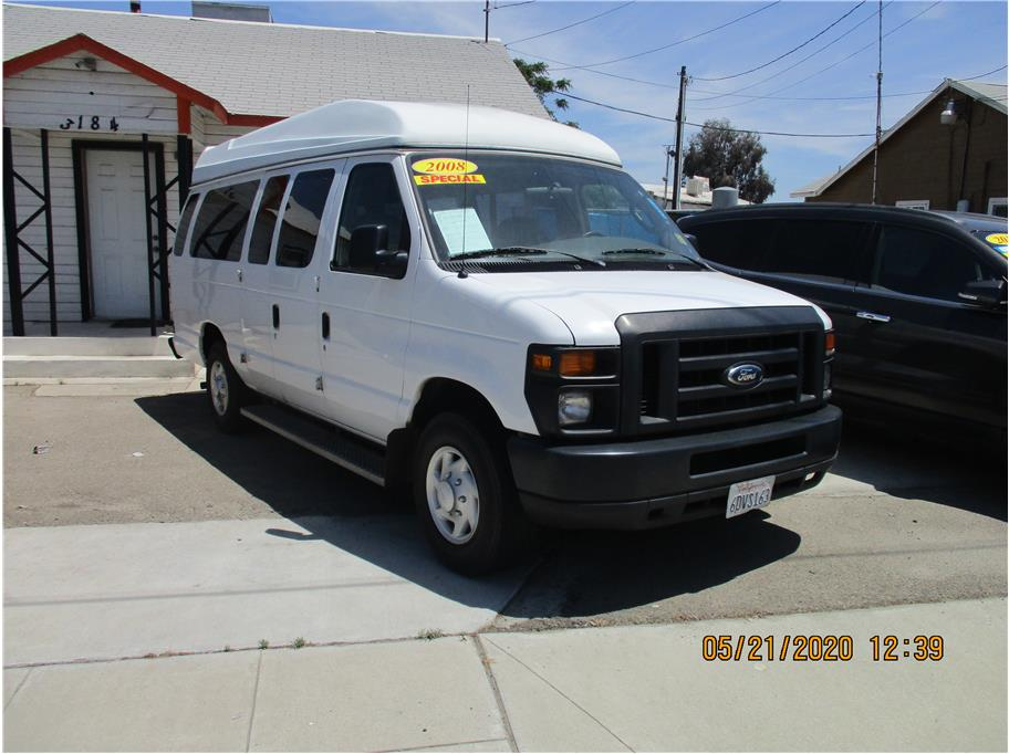 2008 Ford E250 Cargo Extended Van 3D in Selma, CA