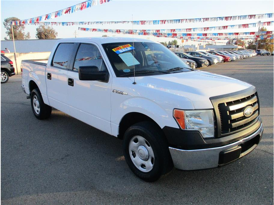 Used 2009 Ford F150 SuperCrew Cab XL Pickup 4D 5 1/2 ft in Selma, CA