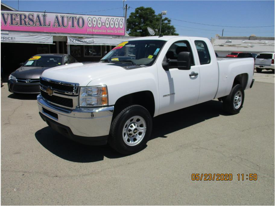 2013 Chevrolet Silverado 2500 HD Extended Cab Work Truck Pickup 4D 6 1/2 ft in Selma, CA