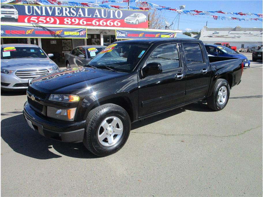Used 2012 Chevrolet Colorado Crew Cab LT Pickup 4D 5 ft in Selma, CA