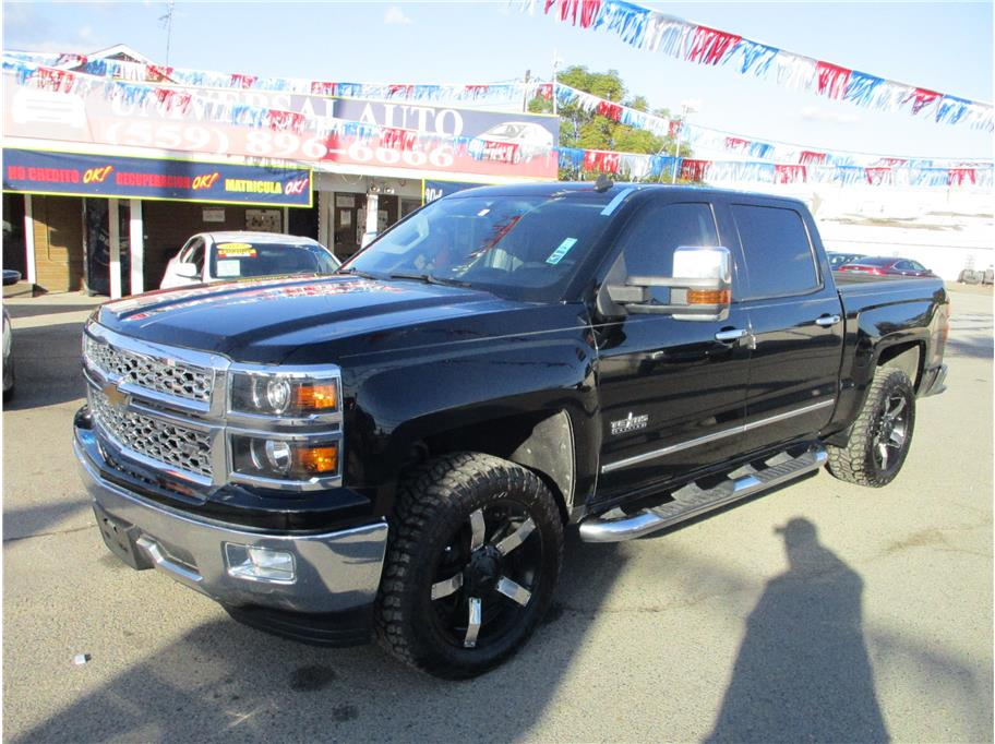 Used 2014 Chevrolet Silverado 1500 Crew Cab LTZ Pickup 4D 5 3/4 ft in Selma, CA