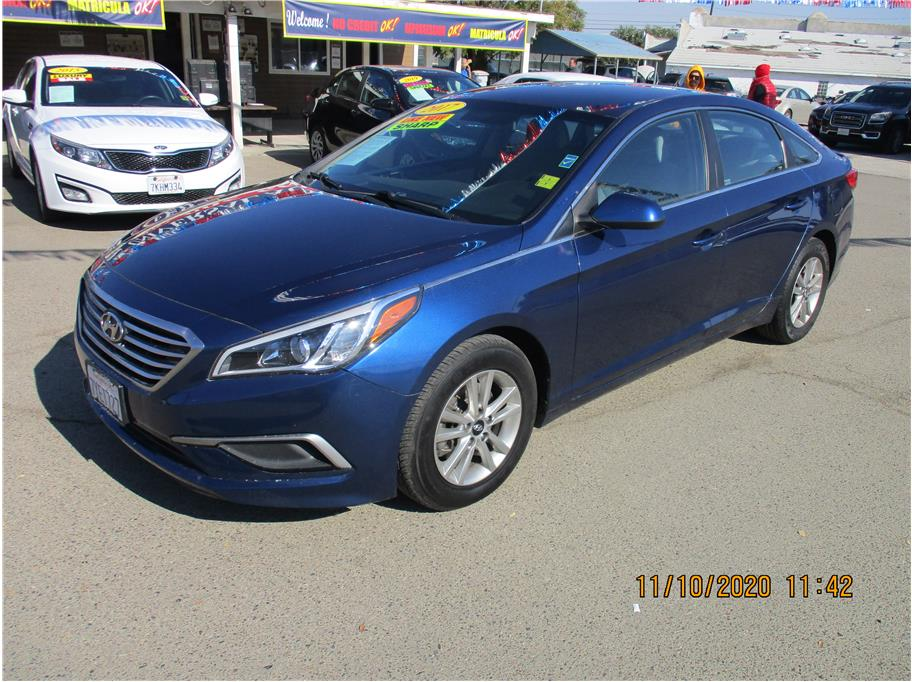 Used 2017 Hyundai Sonata SE Sedan 4D in Selma, CA