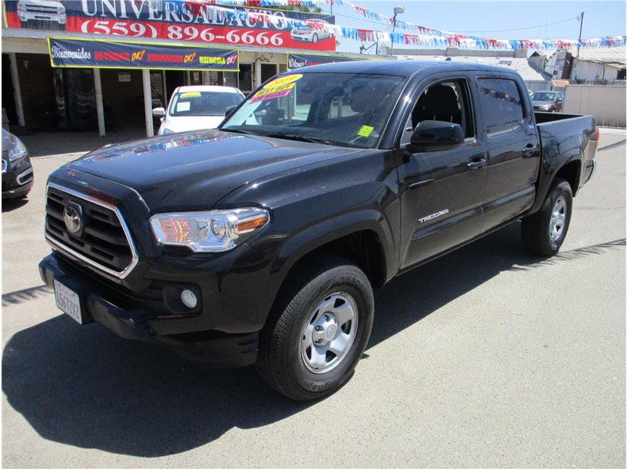 Used 2019 Toyota Tacoma Double Cab SR5 Pickup 4D 5 ft in Selma, CA