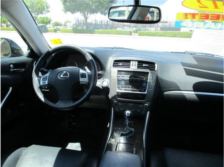2012 Lexus IS IS 250 Sedan 4D