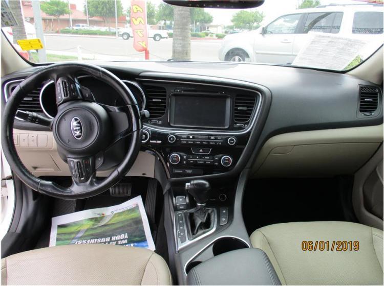 2014 Kia Optima EX Hybrid Sedan 4D