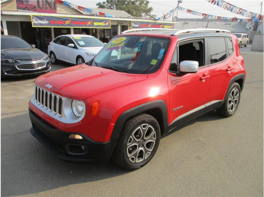 Used 2016 Jeep Renegade Limited Sport Utility 4D in Selma, CA