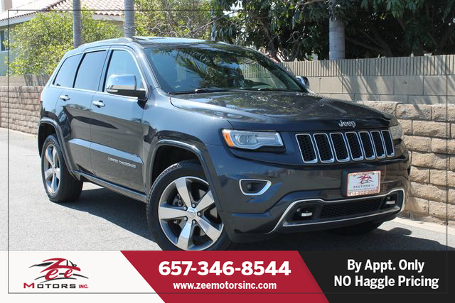 Used 2015 Jeep Grand Cherokee Overland Sport Utility 4D in Orange, CA