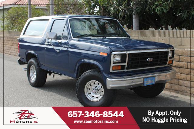 Used 1986 Ford Bronco Custom in Orange, CA