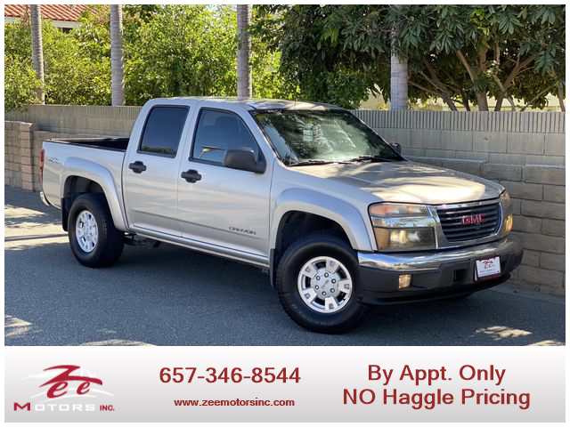 Used 2004 Gmc Canyon Crew Cab 1gtds136x48219606 In Orange