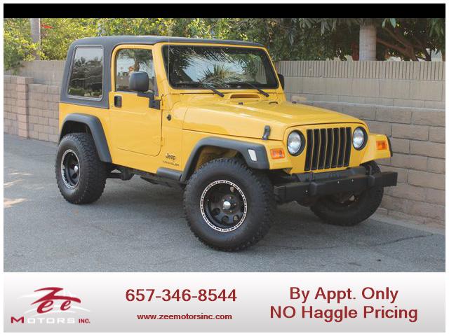 Used 2006 Jeep Wrangler SE Sport Utility 2D in Orange, CA