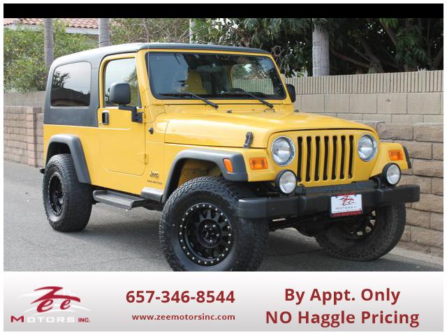Used 2006 Jeep Wrangler Unlimited Sport Utility 2D in Orange, CA