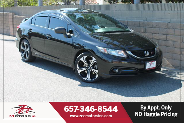 Used 2015 Honda Civic Si Sedan 4D in Orange, CA