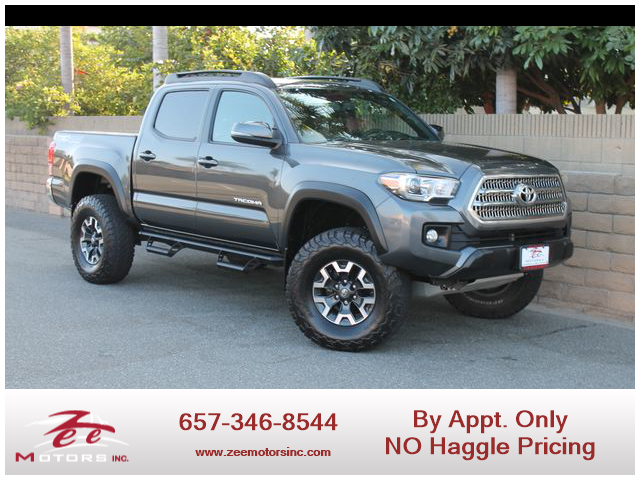 Used 2017 Toyota Tacoma Double Cab TRD Off-Road Pickup 4D 5 ft in Orange, CA