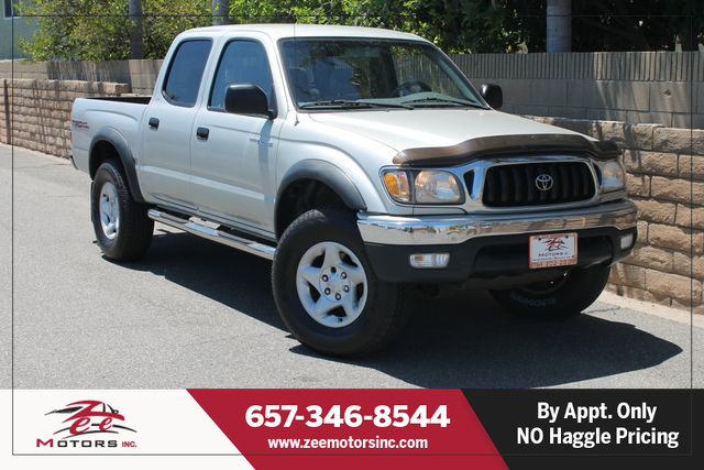 Used 2001 Toyota Tacoma Double Cab PreRunner 4D in Orange, CA