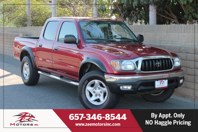 Used 2004 Toyota Tacoma Double Cab PreRunner Pickup 4D 5 ft in Orange, CA
