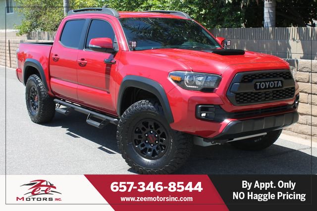 Used 2017 Toyota Tacoma Double Cab TRD Pro Pickup 4D 5 ft in Orange, CA