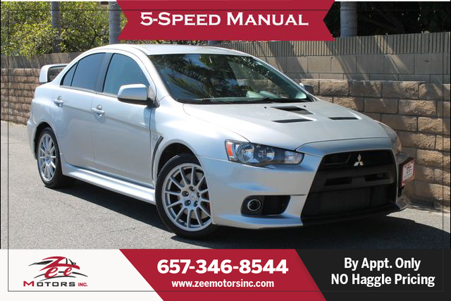 Used 2011 Mitsubishi Lancer Evolution GSR Sedan 4D in Orange, CA