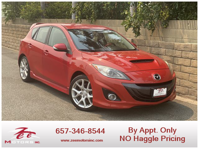 Used 2012 MAZDA MAZDA3 MAZDASPEED3 Touring Hatchback 4D in Orange, CA