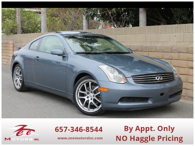 Used 2005 INFINITI G G35 Coupe 2D in Orange, CA