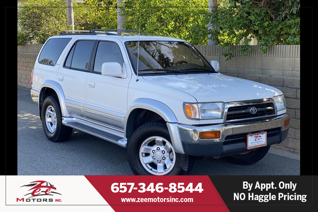 Used 1998 Toyota 4Runner Limited Sport Utility 4D in Orange, CA