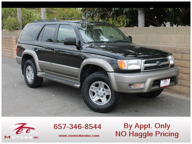 Used 1999 Toyota 4Runner Limited Sport Utility 4D in Orange, CA