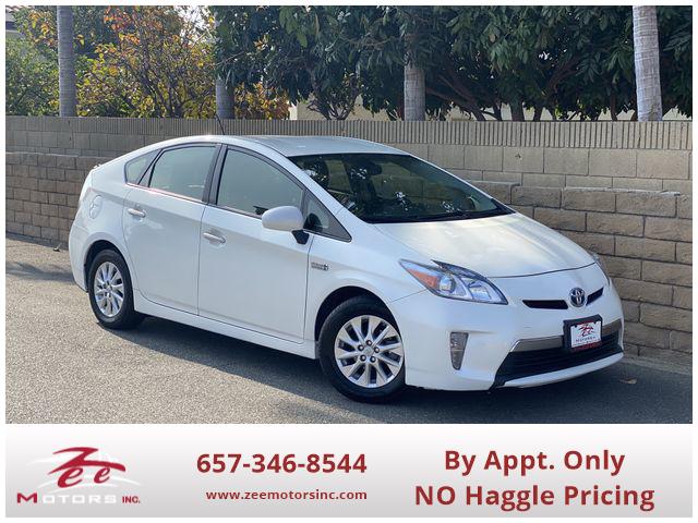 Used 2014 Toyota Prius Plug-in Hybrid Advanced Hatchback 4D in Orange, CA