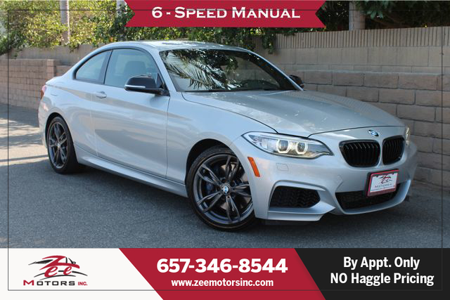 Used 2016 BMW 2 Series M235i Coupe 2D in Orange, CA