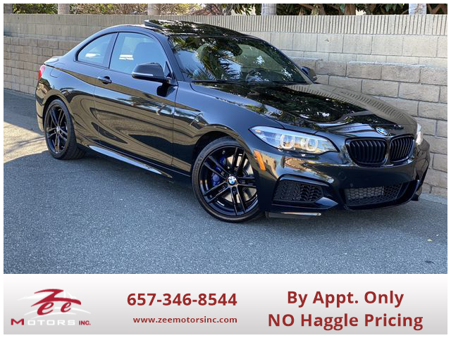 Used 2018 BMW 2 Series M240i Coupe 2D in Orange, CA