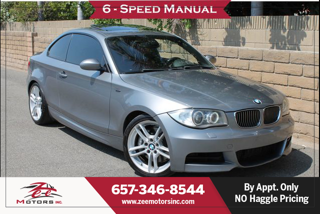 Used 2009 BMW 1 Series 135i Coupe 2D in Orange, CA