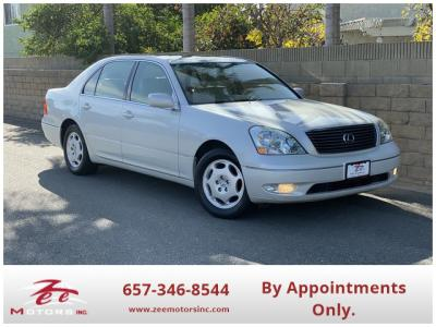 2001 Lexus LS LS 430 Sedan 4D in Orange, CA