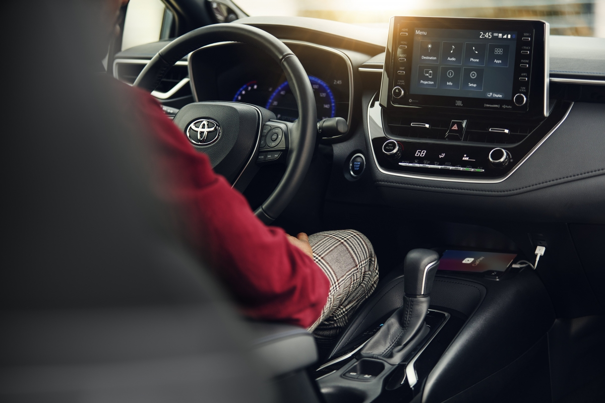 Drive off in your new or used Toyota Corolla!