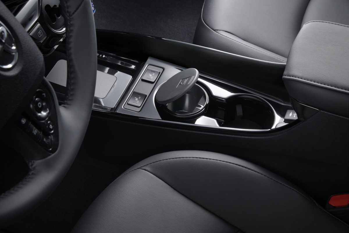 Sleek interior of the Toyota Prius Prime