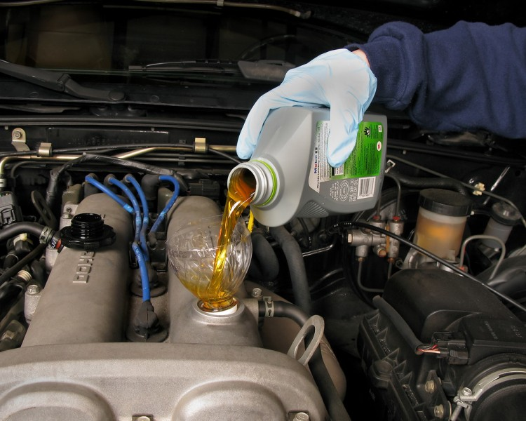 Keller Used Cars Fluid Check