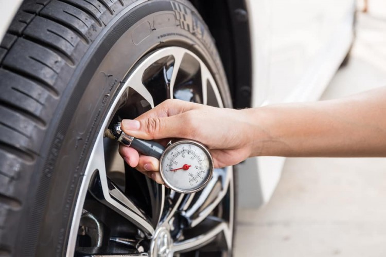 Have a regular check on tire pressure