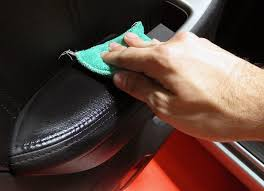 Use conditioner to protect leather seats