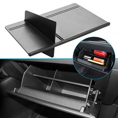 Use an expandable folder to keep your glove box organized
