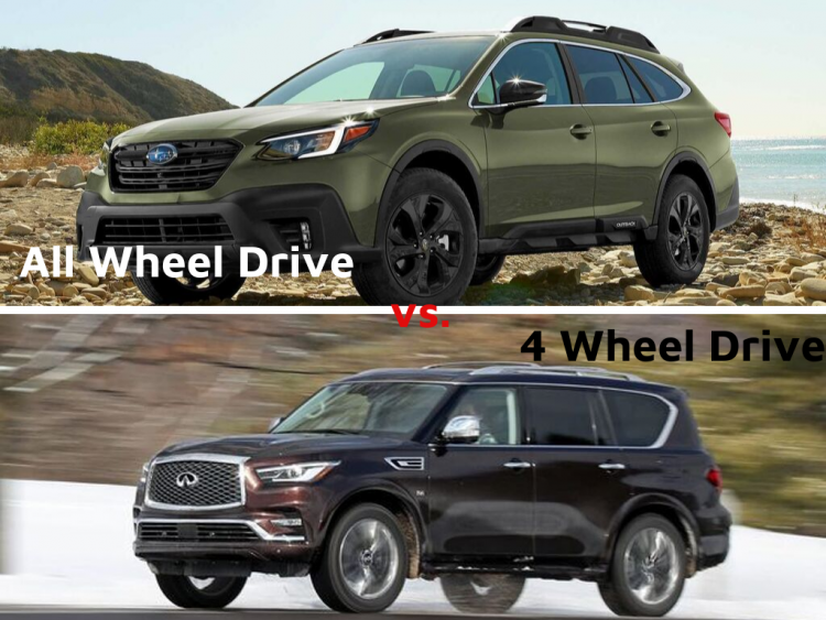 What is the difference between All-Wheel Drive (AWD) vs. Four-Wheel Drive (4WD)