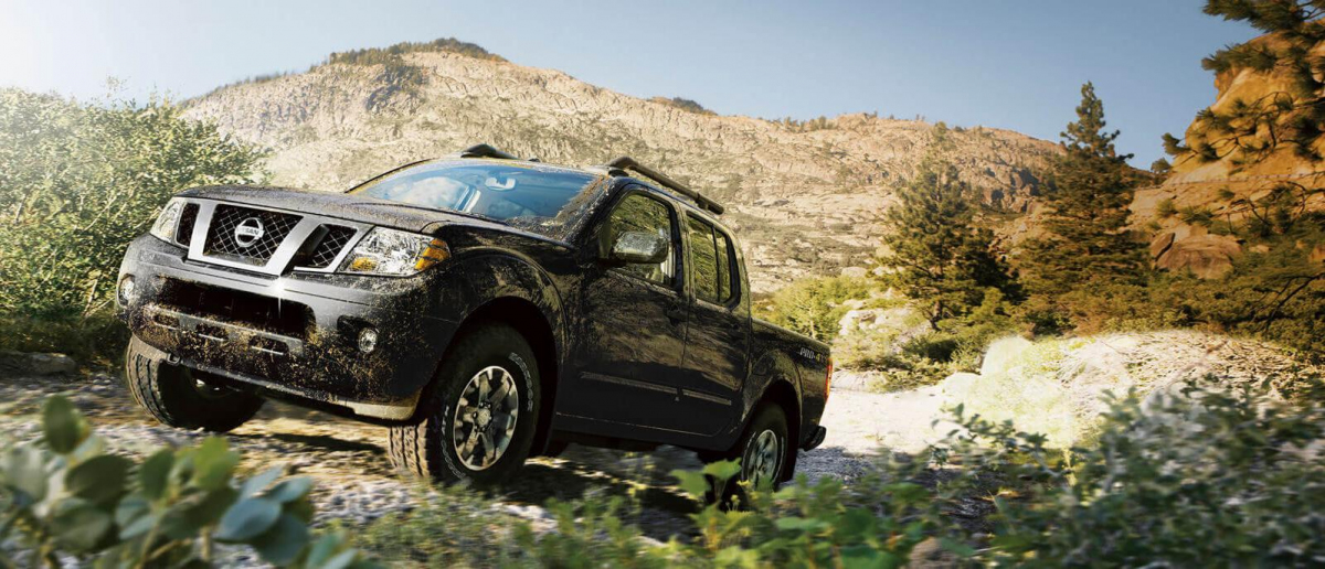 2018 Nissan Frontier   Sunny Mountain Background