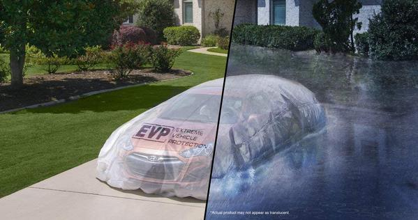 Could this bag protect your car from a flood?